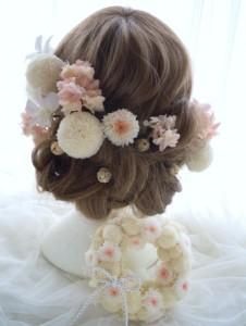 ピンポンマム髪型4