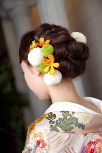 ピンポンマム髪型1