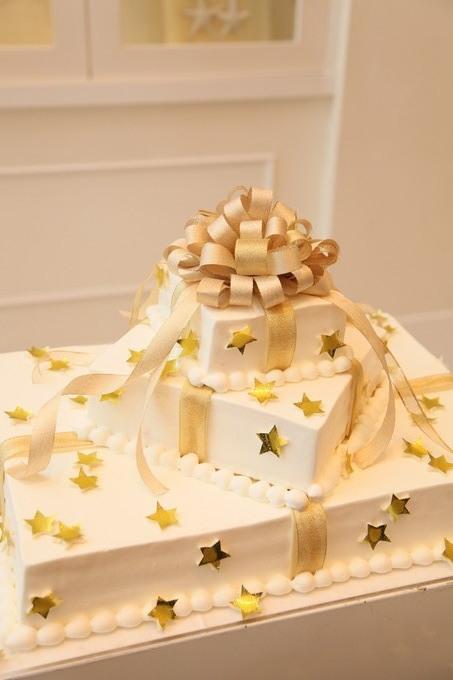 星のケーキ