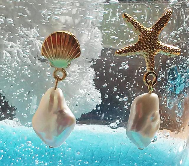 貝殻アクセサリー