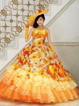 ひまわりドレス1