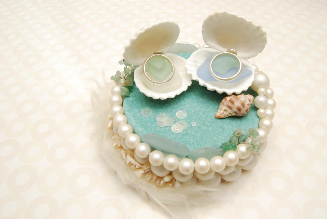 貝殻リングピロー2