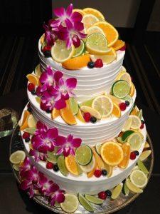 南国ウェディングケーキ