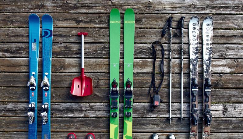 スキーがテーマの結婚式