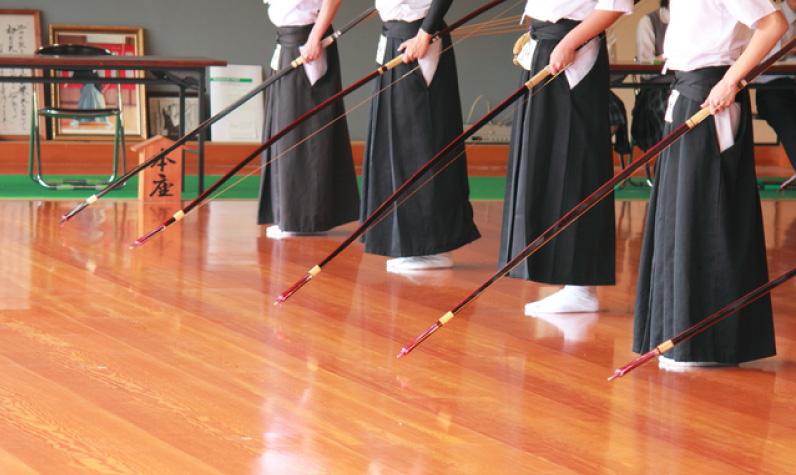 弓道がテーマの結婚式