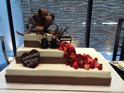 剣道ウェディングケーキ
