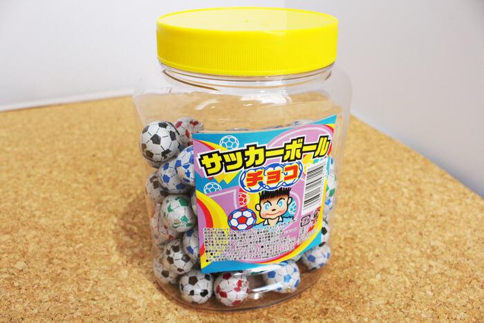 サッカーボールチョコレート01