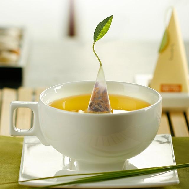 葉っぱの紅茶
