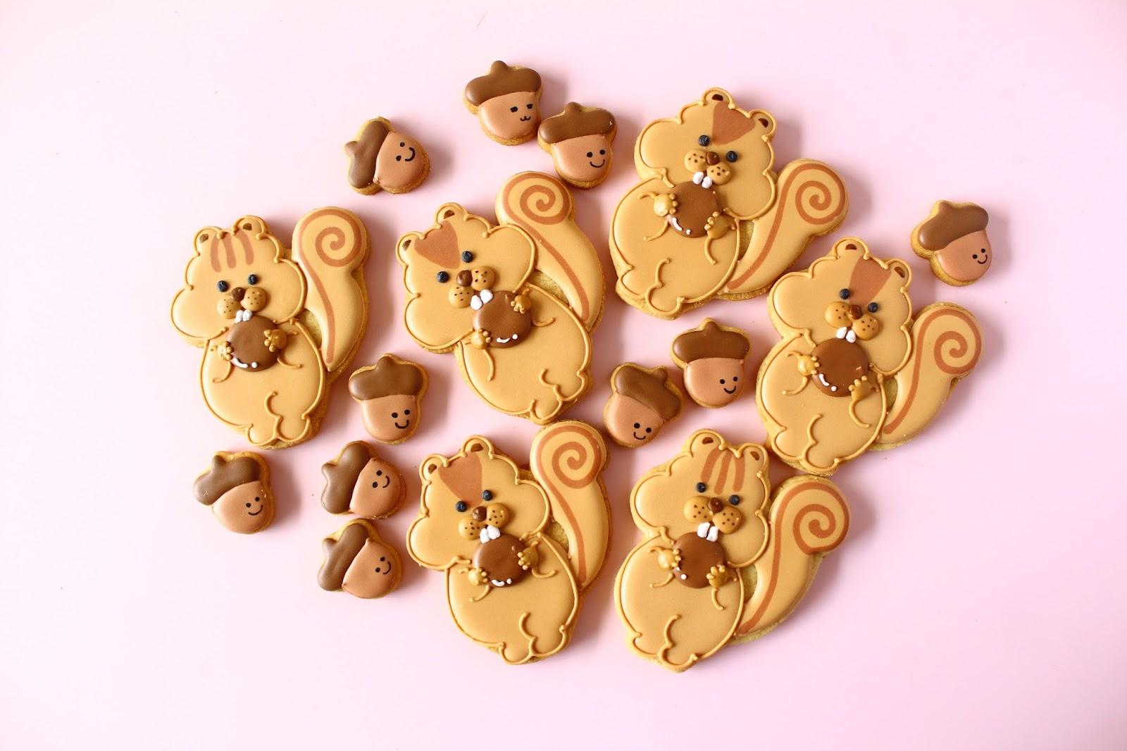 リスアイシングクッキー