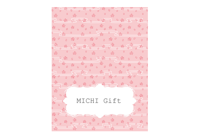 薄いピンクの桜の席札テンプレート