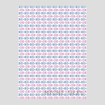 xoxoのデザインのラッピングペーパー・包装紙