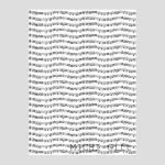 楽譜の柄のラッピングペーパー・包装紙