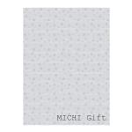 桜のモノクロデザインのラッピングペーパー・包装紙