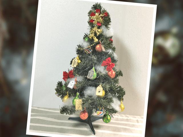 クリスマスツリーオーナメントのプチギフト