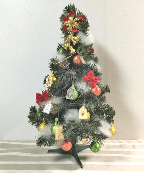 クリスマスツリーオーナメントのプチギフトの作り方4
