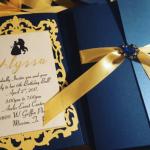 ディズニー美女と野獣の招待状