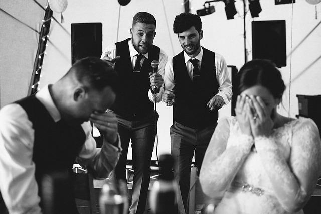 結婚式の友人スピーチ